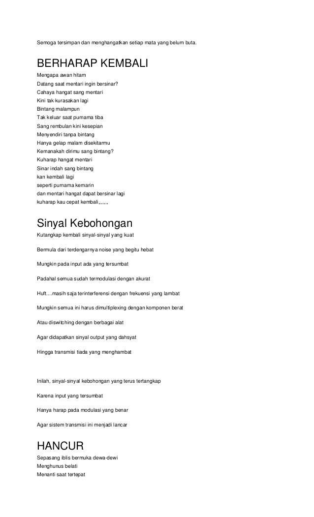 1000 Puisi Kehidupan