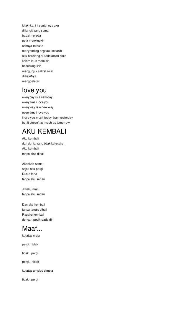 1000 Puisi Untuk Langit Kumpulan Puisi