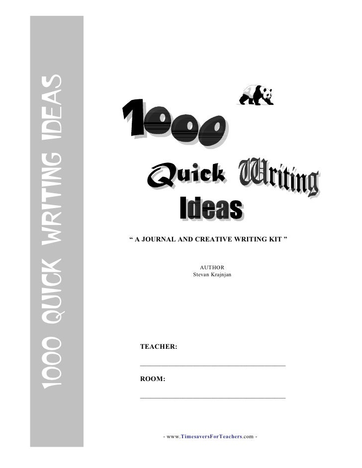 1000 Ideas About Time Capsule Kids On Pinterest: 1000 Quick Writing Ideas