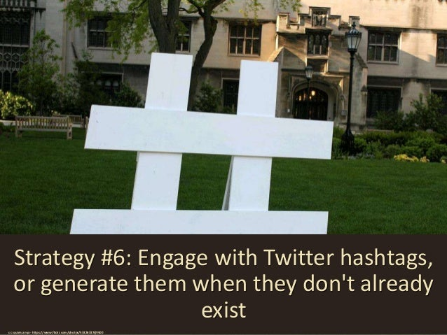 Strategy #7: Use multiple tweets on a related theme to build interest cc: krazydad / jbum - https://www.flickr.com/photos/...