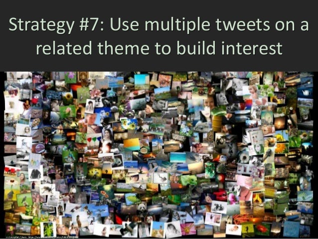 Strategy #8: Retweet other people to help them increase their Twitter reach cc: jessicahtam - https://www.flickr.com/photo...