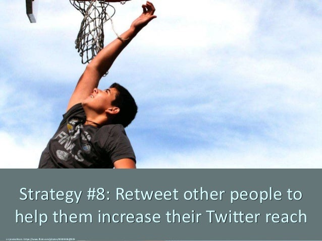 Strategy #9: Attend (or organise) events and engage with them widely on Twitter cc: miuenski - https://www.flickr.com/phot...