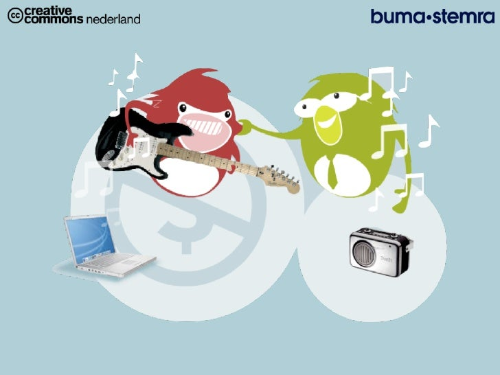 Copyright,  Copyle. evalua&eonderzoek  pilot  Buma/Stemra  en                   Crea&ve  Commons  Nederland...