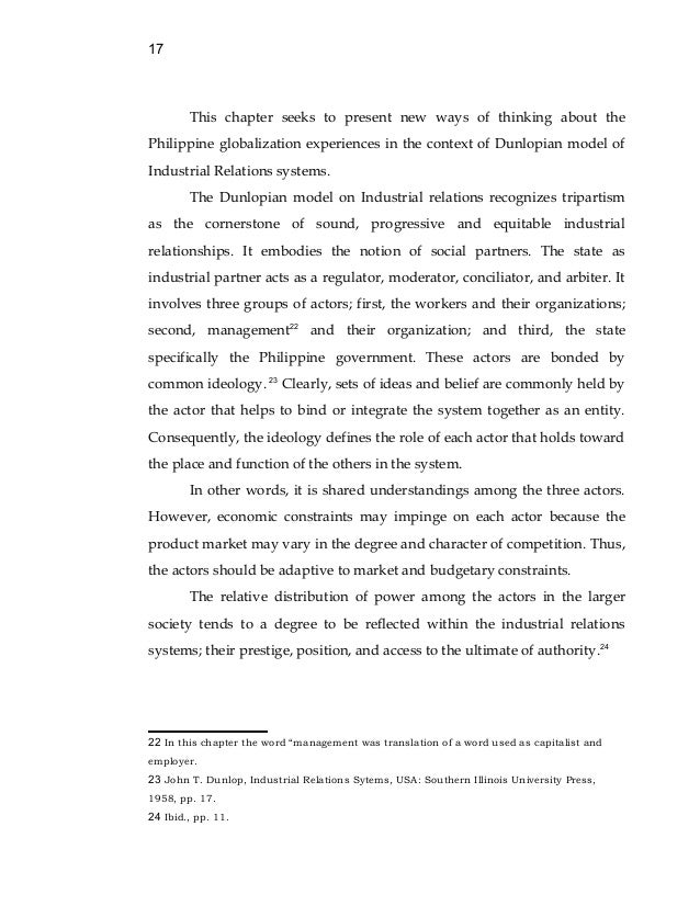 the impact of globalization on trade unionism doc 17