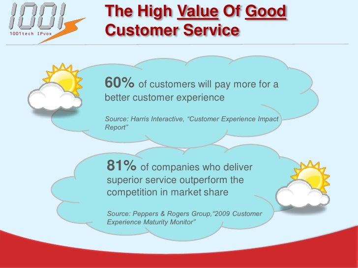 The True Value Of Customer Service
