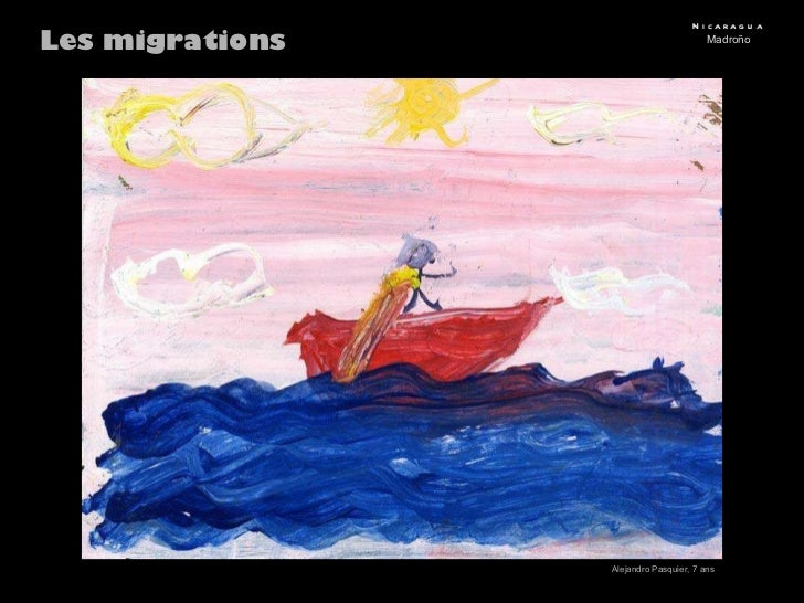 Les migrations Nicaragua Madroño Alejandro Pasquier, 7 ans