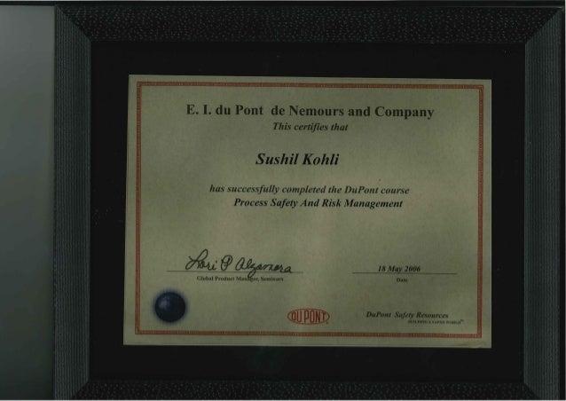 09 dupont certificates