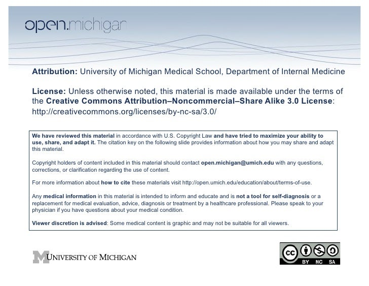 Attribution: University of Michigan Medical School, Department of Internal MedicineLicense: Unless otherwise noted, this m...