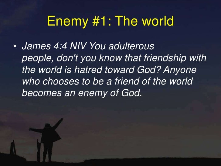 Enemy 1 The World