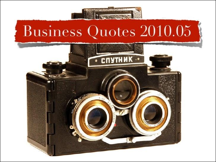 Quotes 2010.05