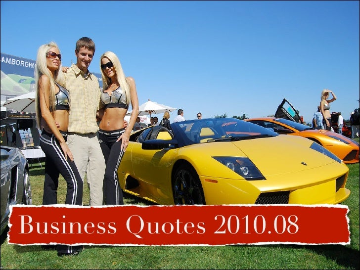 Business Quotes 2010.08