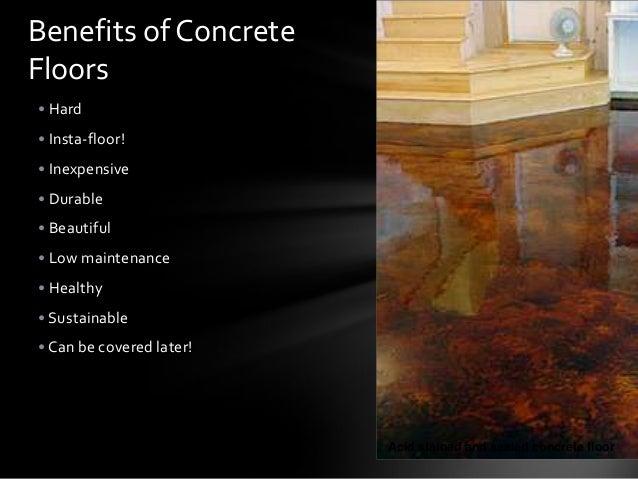 Exposed Concrete Floors
