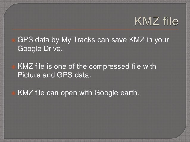 Kmz File Google Earth