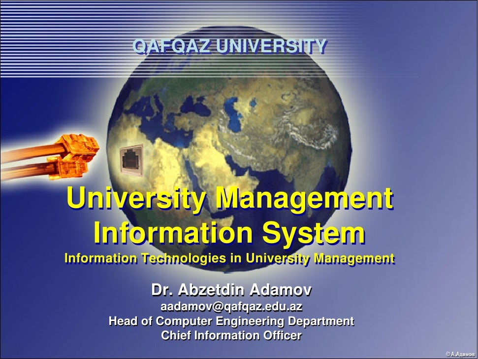 university management system E-university management system is a web enabled information management system designed to automate the entire operations of a modern university e-university management system allows multi-divisional, multi-department system handling that includes various activities such as.
