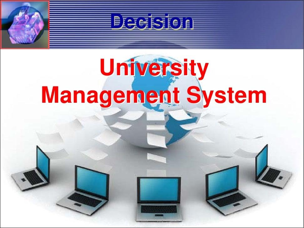University Management Information System