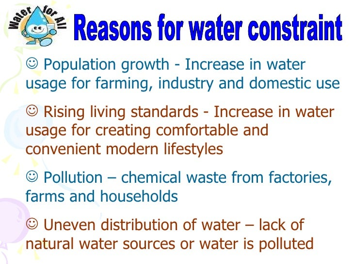 water is a valuable resource Water is now the most valuable resource on the planet in the uk, water companies generate three times the profit levels of oil or gas with water.