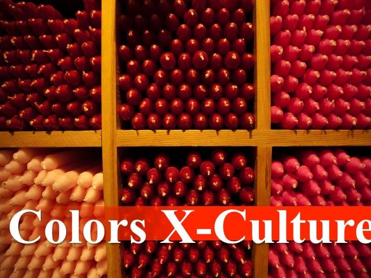 Colors X-Culture