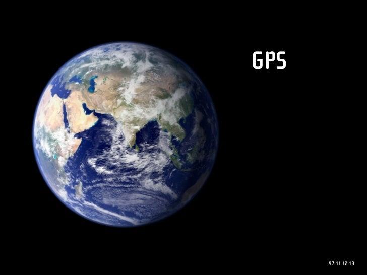 GPS           97 11 12 13