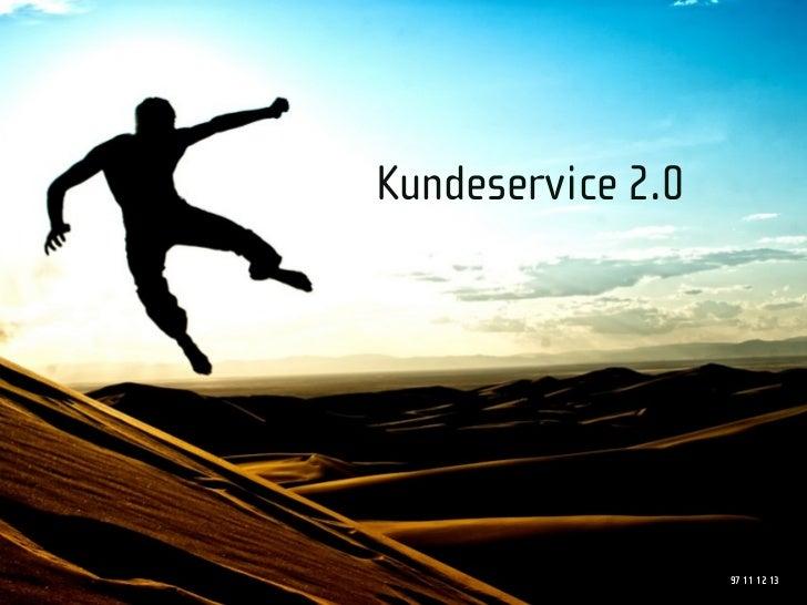 Kundeservice 2.0                        97 11 12 13