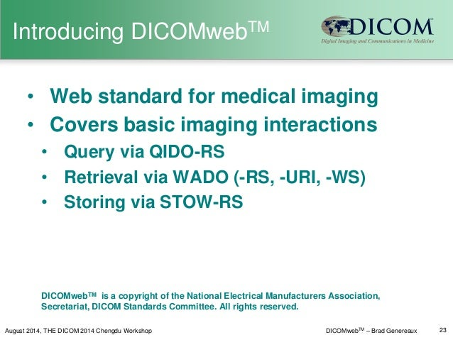 DICOM is Easy: Introduction to DICOM - Chapter 1 ...