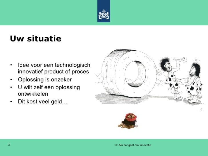 WBSO Syntens Amsterdam 11 mei 2010 Slide 3