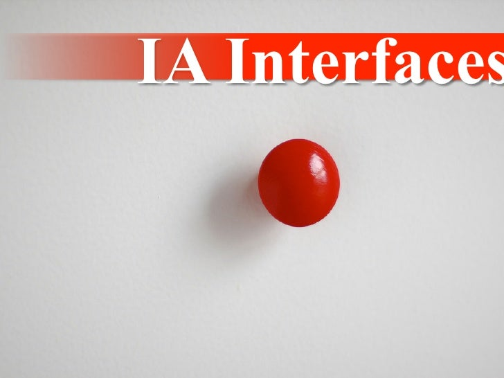IA Interfaces