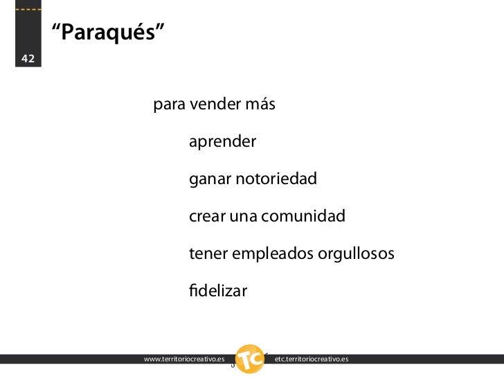 """""""Paraqués"""" 42                  para vender más                            aprender                            ganar notori..."""