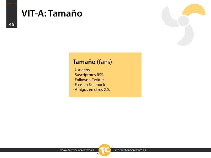VIT-A: Tamaño 45                           Tamaño (fans)                       - Usuarios                       - Suscript...