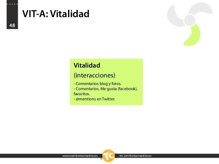 VIT-A: Vitalidad 48                          Vitalidad                      (interacciones)                      - Comenta...