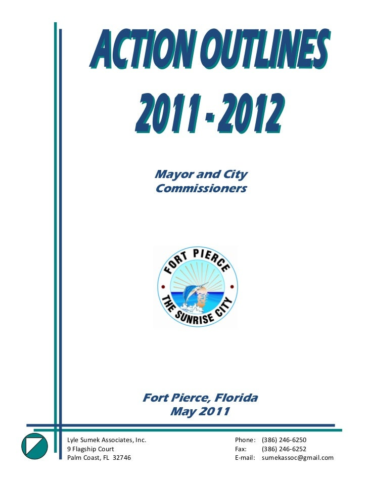 Mayor and City                               Commissioners                          Fort Pierce, Florida                  ...