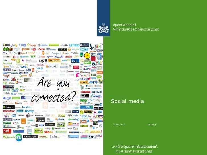 Social Media Social media Auteur