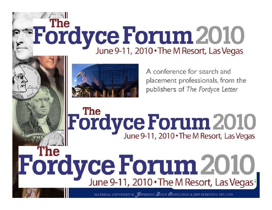 How we got here for Fo d ce Fo m 2010: Fordyce Forum