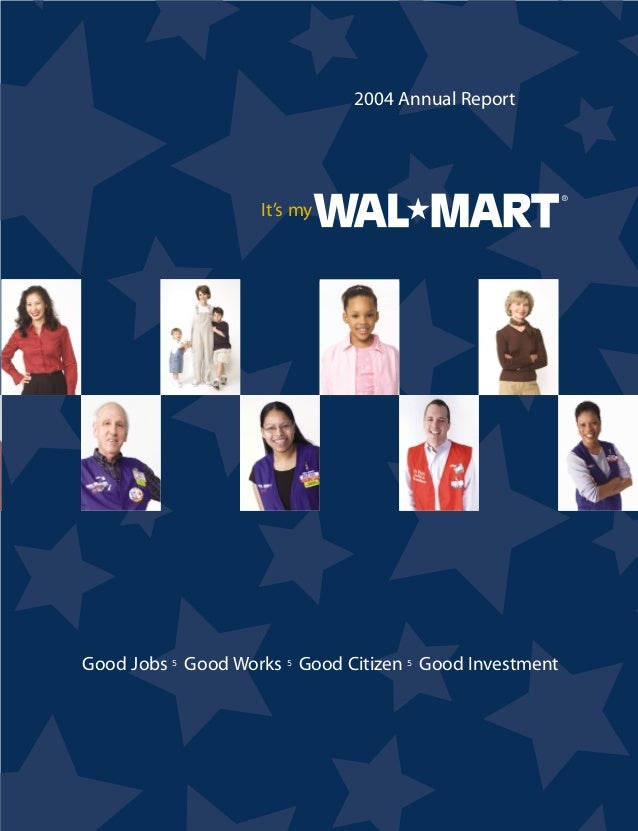 2012 annual report wal mart stores Originally consisting of discount stores, walmart canada's contemporaries  the urban 90 format in 2012,  with the company-wide annual performance evaluation .