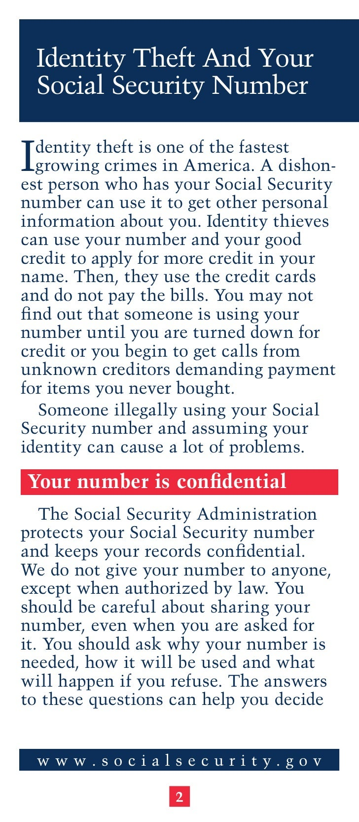 how to change your social security number identity theft