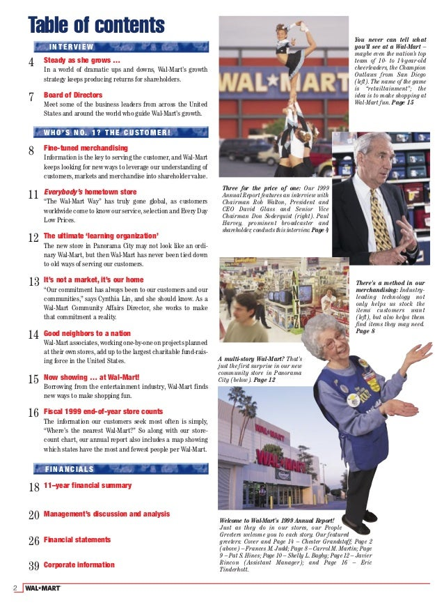 wal mart business report Report on strategis management and it about wal mart global business pruspactive by sukantamaji in report on strategis management.