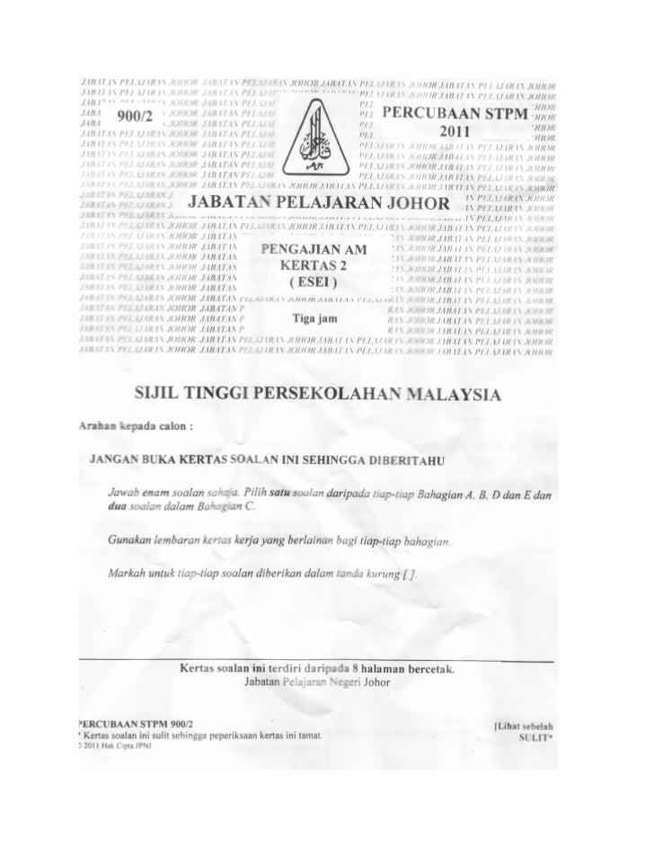 65390957-PERCUBAAN-STPM-PENGAJIAN-AM-KERTAS-2-NEGERI-JOHOR-2011
