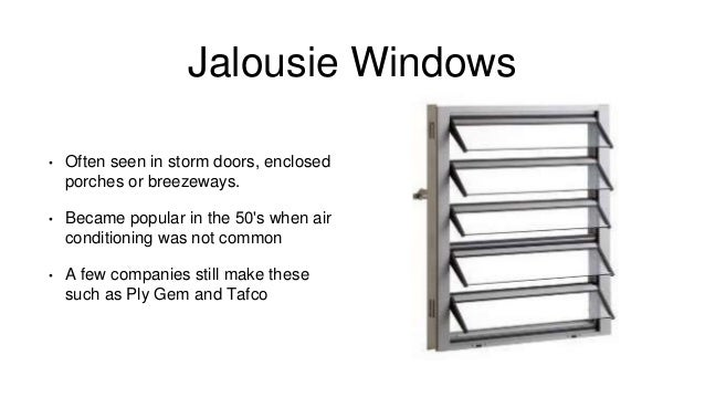 Windows And Doors Presentation