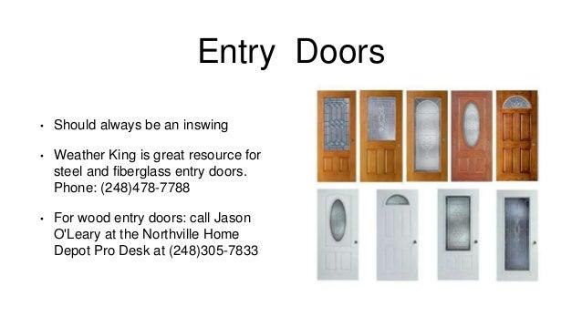 Windows And Doors Presentation