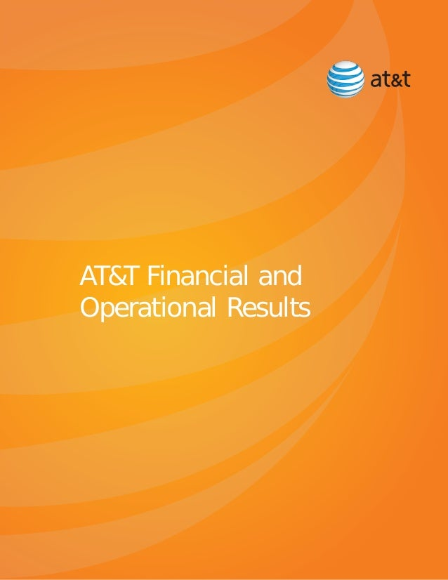 AT&T Financial and Operational Results