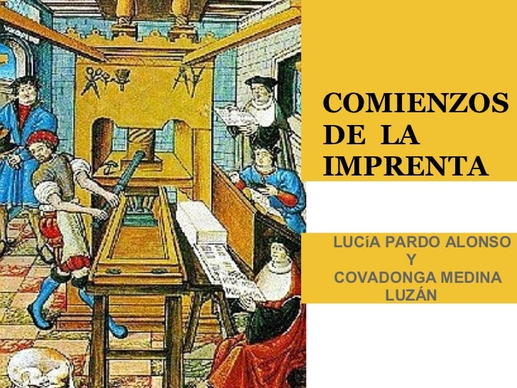LUCíA PARDO ALONSO Y   COVADONGA MEDINA LUZÁN                COMIENZOS   DE L...