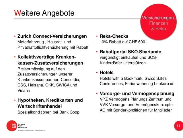Weitere Angebote • Zurich Connect-Versicherungen Motorfahrzeug-, Hausrat- und Privathaftpflichtversicherung mit Rabatt • K...