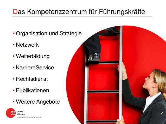 • Organisation und Strategie • Netzwerk • Weiterbildung • KarriereService • Rechtsdienst • Publikationen • Weitere Angebot...