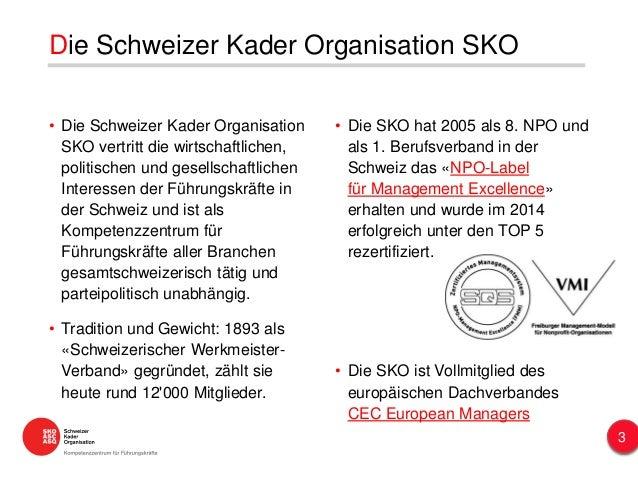 • Die Schweizer Kader Organisation SKO vertritt die wirtschaftlichen, politischen und gesellschaftlichen Interessen der Fü...