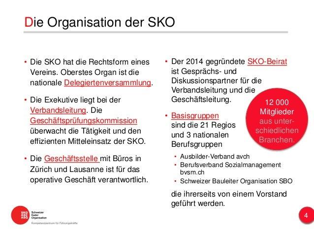 • Der 2014 gegründete SKO-Beirat ist Gesprächs- und Diskussionspartner für die Verbandsleitung und die Geschäftsleitung. •...