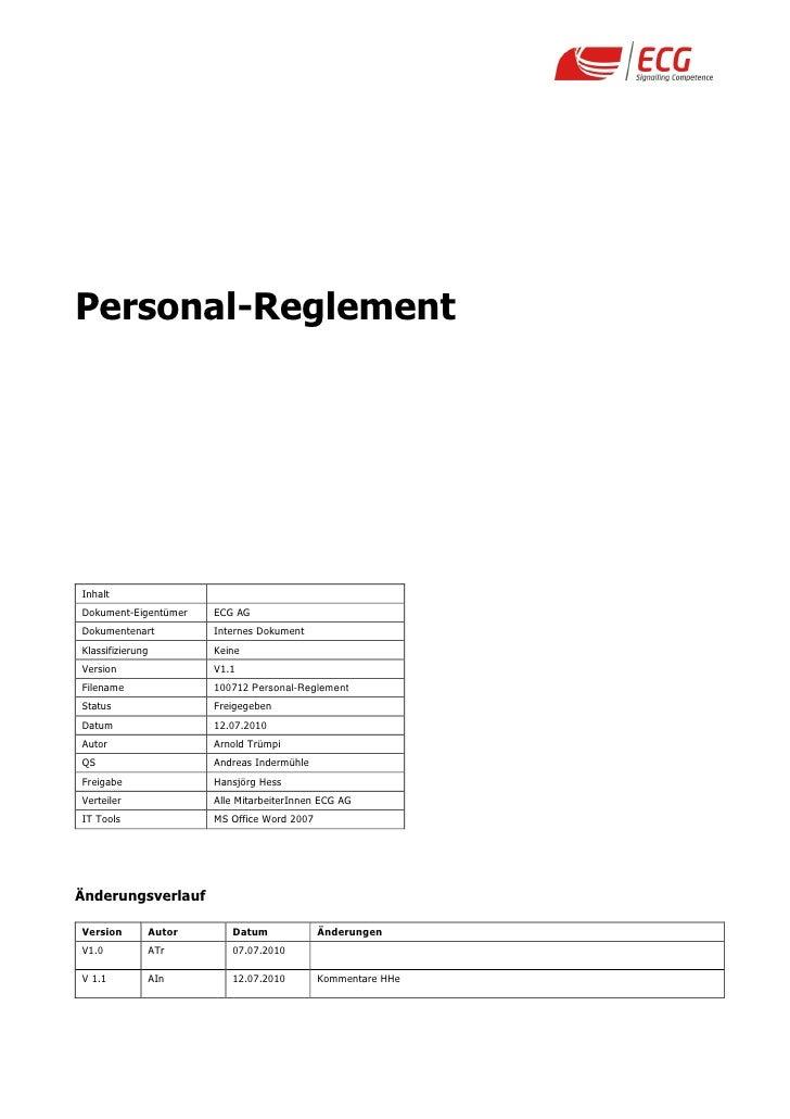 100712 personal reglement