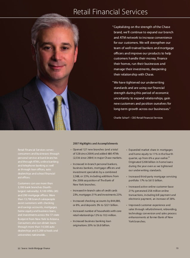 jp morgan chase annual report