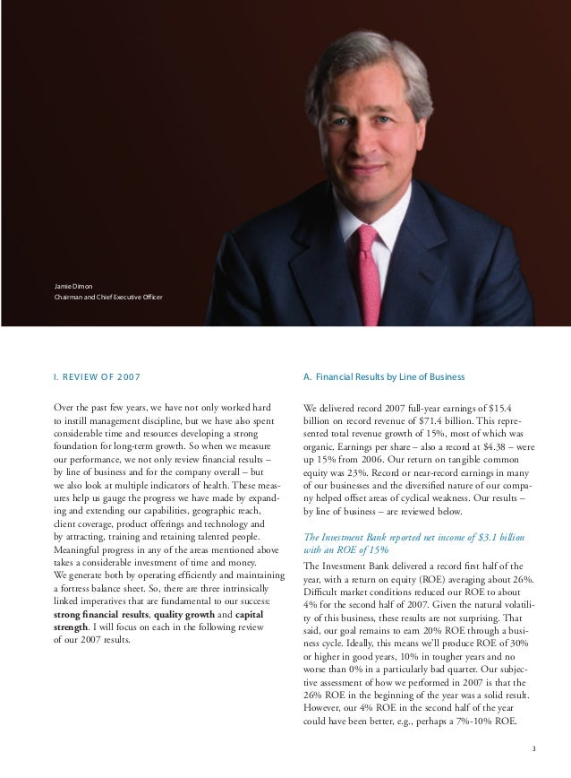 jp morgan chase annual report The big banks have transformed wall street into the biggest casino in the history of the planet, and when things are running smoothly they usually make a whole lot of.