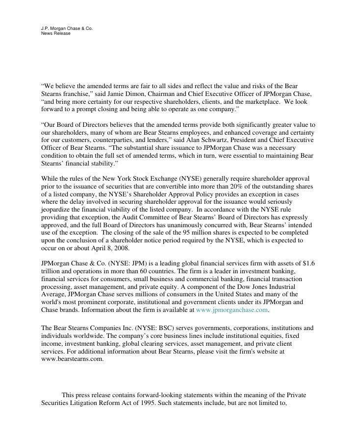 JPMorgan Chase  PDF  Press Release 3-24-08  Slide 2