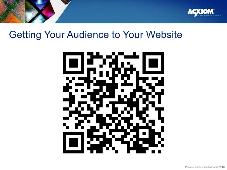 Getting Your Audience to Your Website