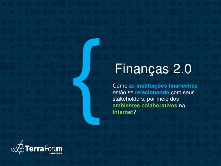 Finanças 2.0 - Evento Aberje & Terra